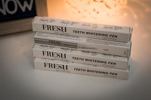 We sell On-The-Go whitening gel  ONLY $25