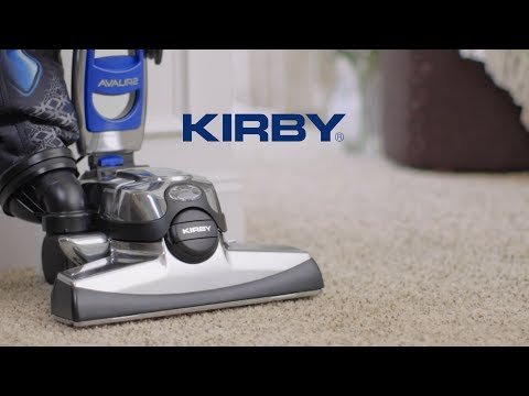 Kirby upright vacuum