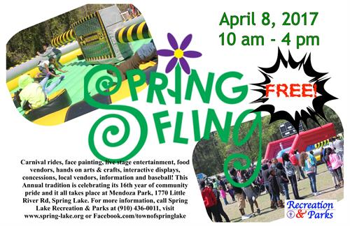 Spring Lake's Spring Fling - April 8th 10 am - 4 pm