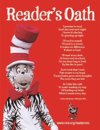 Dr. Seuss Reader's Oath