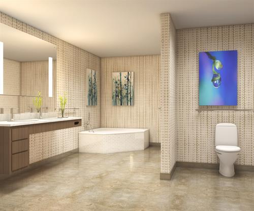 Presidential Suites - Bathroom with Jacuzzi