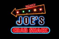 Joe's Crab Shack brings fresh seafood, authentic flavors and Southern coastal flair to locations all across America. Joe's menu features crab, fish, lobster, mussels, clams and shrimp