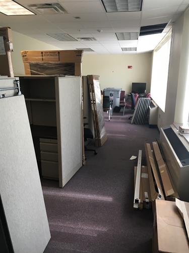 New Office Install at FT Bragg Support Center