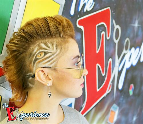 Woman's side cut and design