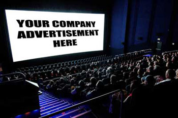 Advertise at the movies