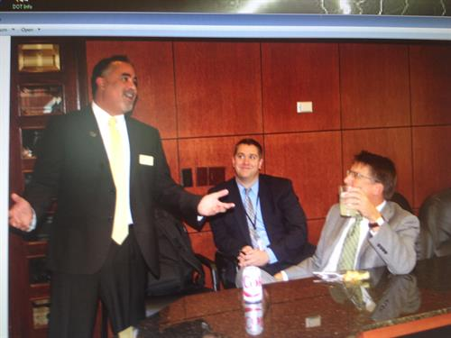My Best Jersey moment during a meeting with former Gov Pat McCrory