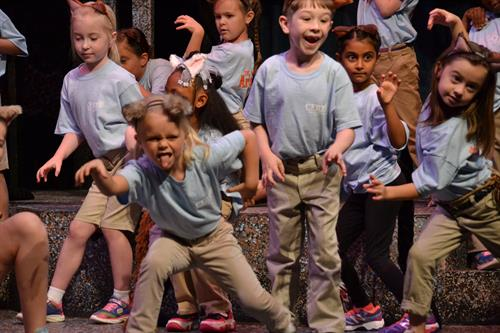 2017 Summer Camp production of THE ARISTOCATS KIDS
