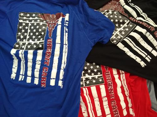 T-Shirts for Womack Army Medical Center's Emergency Room Department