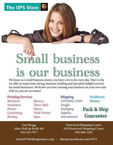 Your small business printing partner!