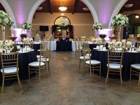 The Orangery is a premier rental space for weddings and celebrations.