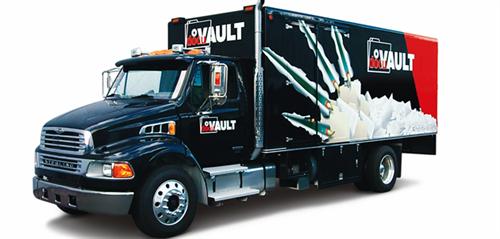 One of DocuVault's Mobile Shredding Units