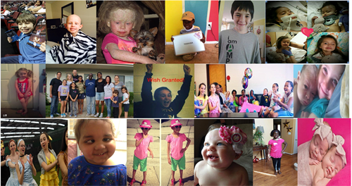 Some of a few of our wish recipients