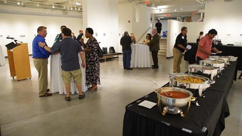 Taste of Tourism Networking Reception at Stockton University's Art Gallery