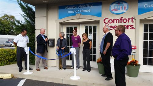 Ribbon Cutting for our new office!      9/29/2015