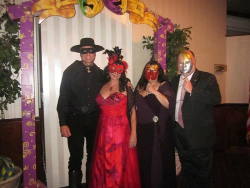 4Epilepsy Masquerade Ball with great friends