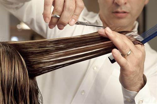 We offer Haircuts, Coloring, and Styling, as well as Keratin treatments!
