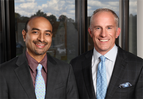 Dr. Vinay Gundlapalli and Dr. Sean Bidic