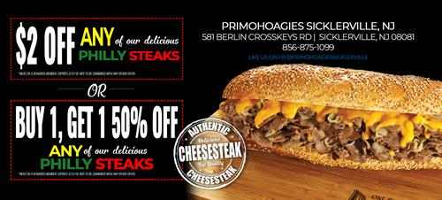 NEW! - Cheesesteaks