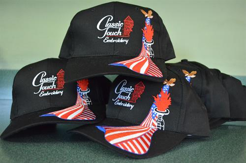 Patriotism is always in style. We carry a large variety of USA Made shirts, hats and jackets.