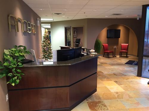 The Ancero Mount Laurel Lobby