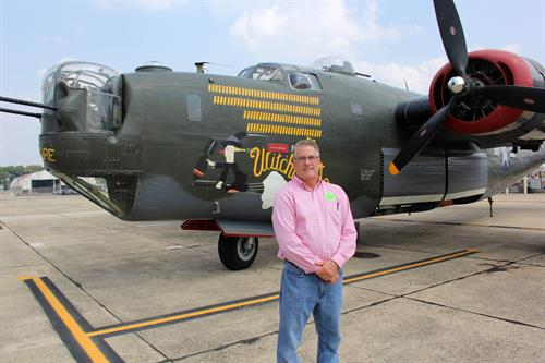 Flying in the B-29 Liberator