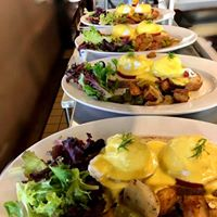 Try our Weekend Special:  Eggs Benedict