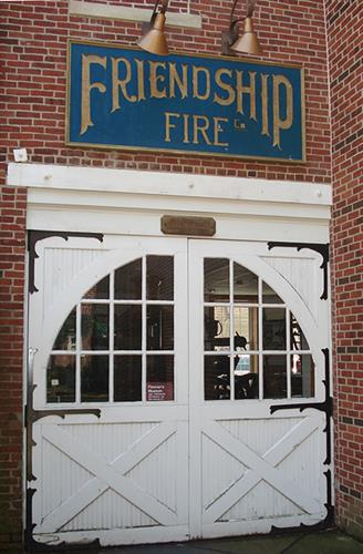 Woodbury's historic fire house