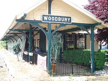 Woodbury Train Station Cafe