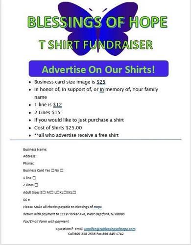 TShirt Fundraiser
