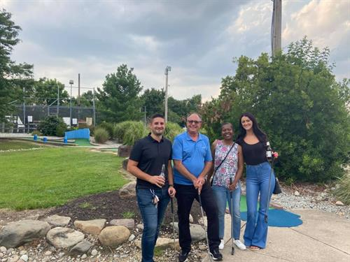 Gloucester County Chamber of Commerce Mini Golf event