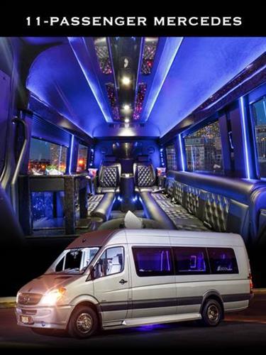11 Passenger Mercedes Sprinter