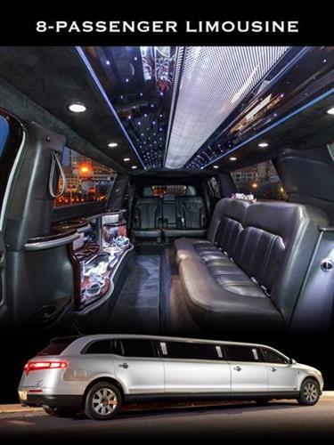 6 & 8 Passenger Stretch Limousines