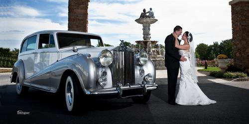 Elegant Vintage Silver Wrath Rolls Royce