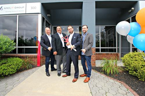 (left) Partner Gary Pica, COO Howard Borochaner, CEO George Mach, Partner Bob Pendland