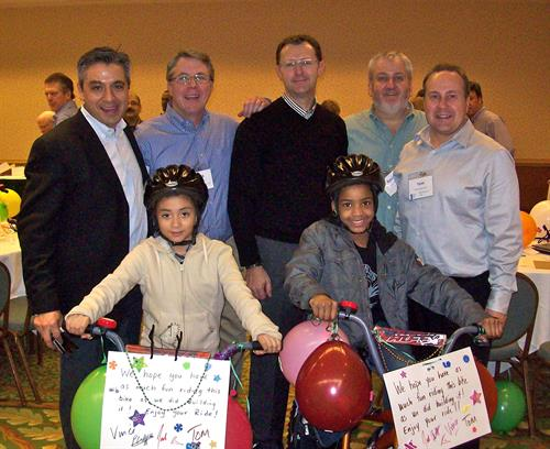Philanthropic Events and building bikes for kids!