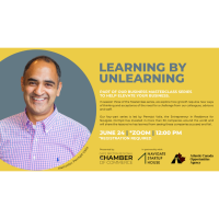 Business Masterclass Series: Learning by Unlearning