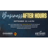 Business After Hours - A Better Bite Cafe