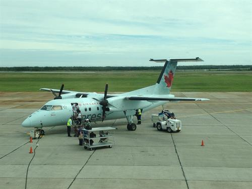 Air Canada / Air Jazz provides daily year round service Sydney - Toronto & Sydney - Halifax with worldwide connections.