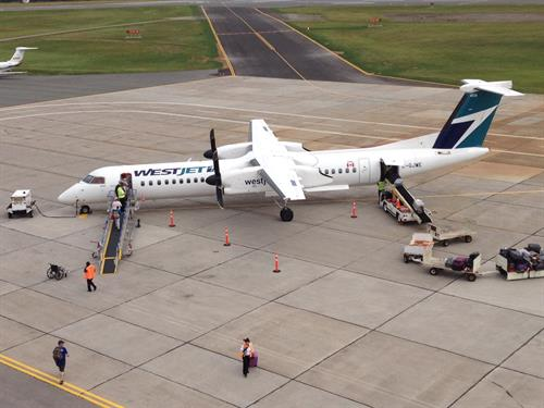 WestJet provides year round daily service Sydney - Halifax; seasonal service direct Sydney - Toronto