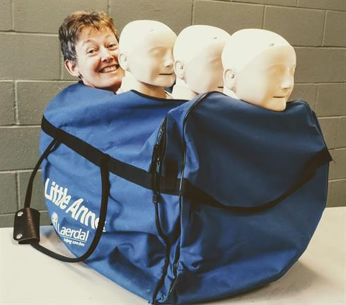 Take a first aid class with our fun, friendly team!