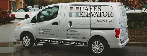 Hayes Fleet Vehicle