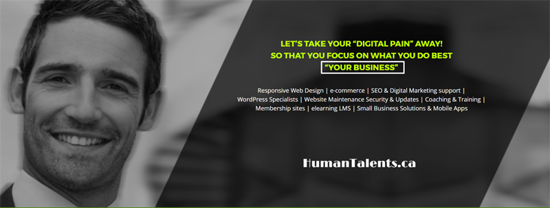 HumanTalents Canada | #ShopChamber | Web Design - Business Directory