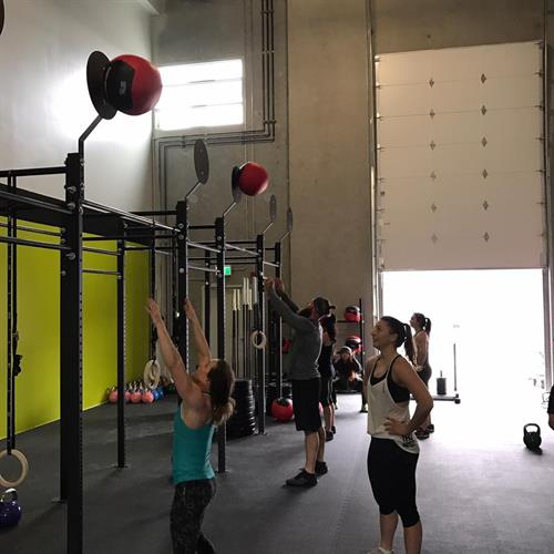 First Class at Port Coquitlam CrossFit!