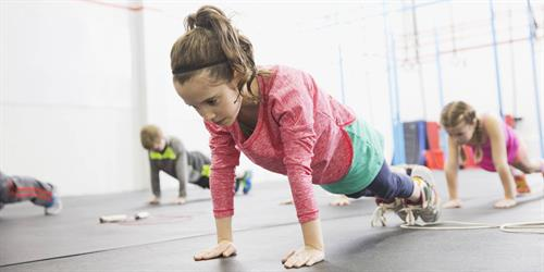We offer kids and teen fitness classes!