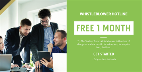 Employee Whistleblower Hotline - The Tandem Team