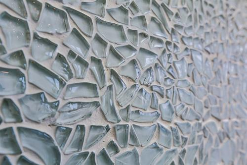 Detail shot of the kitchen backsplash....my favourite backsplash ever....