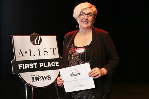 A-List Recipient for Favourite Business under a Year