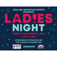 Ladies Night at Wild Iris:  Fundraiser for the Lander Pet Connection