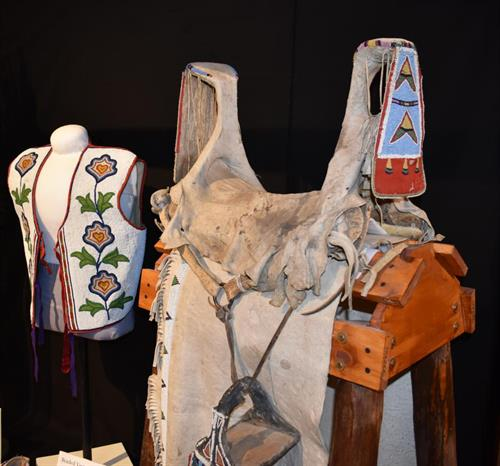 Native American Saddle