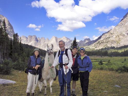 Happy Llama Trekkers